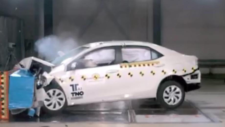 2013款全新卡罗拉 欧洲碰撞测试