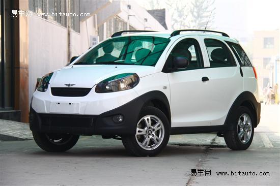 瑞麒X1自动挡售价6.78万 享5千元财政补贴