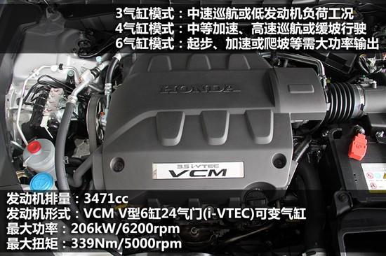 广汽本田2010款歌诗图(Crosstour)3.5L V6引擎