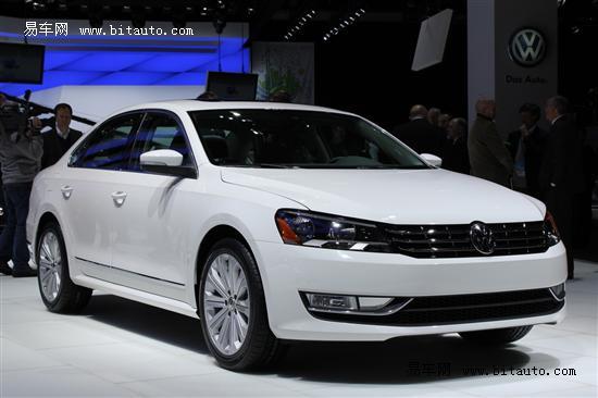 2011北美车展 大众汽车发布全新Passat