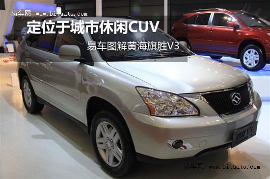 黄海旗胜V3样车到店 多种颜色现车销售