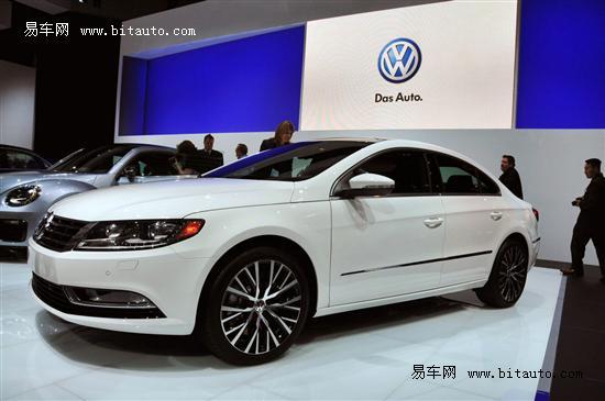 2013款大众CC正式发布 提供五座车型可选