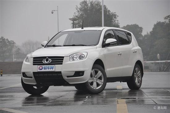 全球鹰GX7将于成都车展上市2.4L 6AT车型
