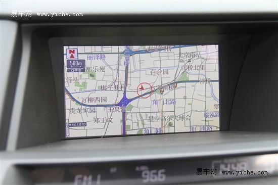 广汽本田全新2012款歌诗图(Crosstour)HDD导航系统