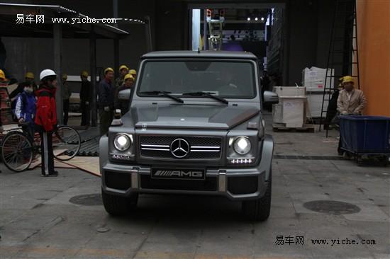 新一代奔驰G级亮相北京车展 全面升级