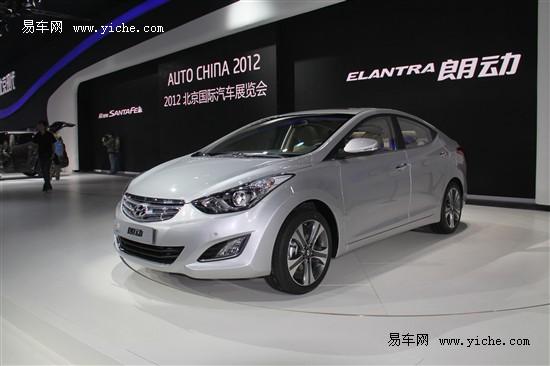 北京现代全新朗动车展首秀 8月中旬上市