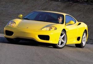法拉利360 Modena侧前45度车头向左水平图片