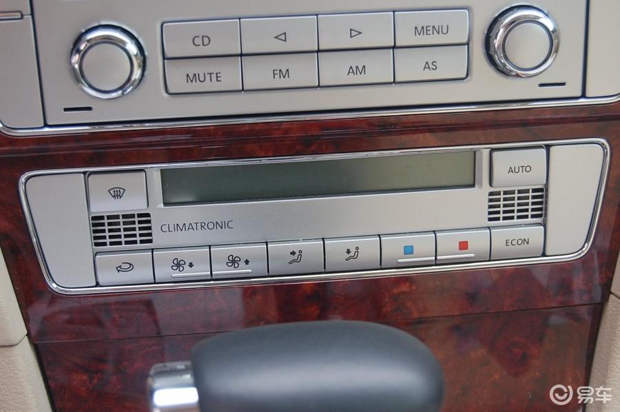 【帕萨特领驭2009款1.8t 自动尊品型中控台空调控制键