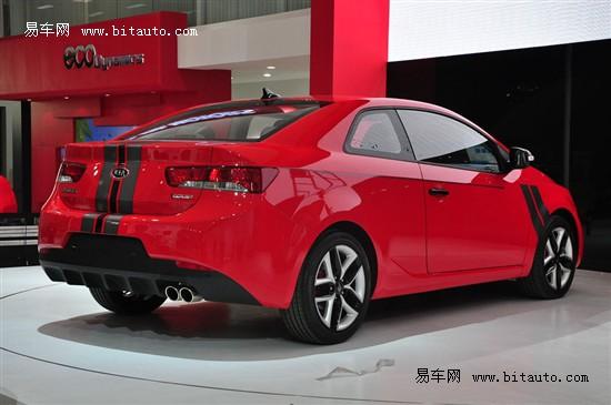 起亚首款双门轿跑车预计价格20万元左右高清图片