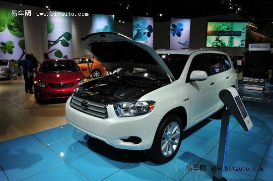 2010北美车展 丰田混合动力汉兰达参展