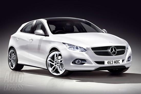 奔驰将推出全新掀背小车 最快2012年销售
