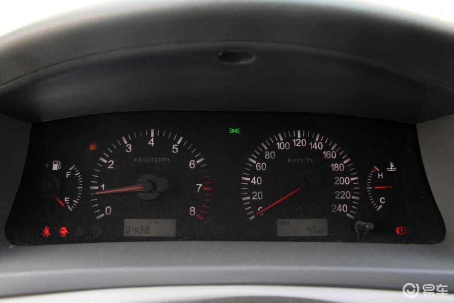 吉利汽车仪表盘指示灯图解
