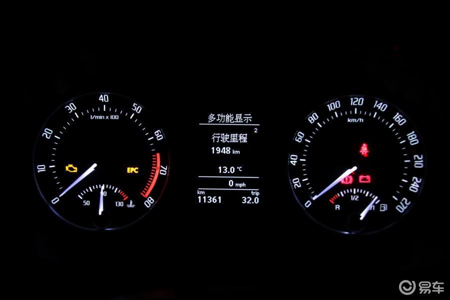 【明锐rs2010款2.0t仪表盘背光显示汽车图片-汽车图片