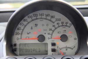 众泰M300 仪表盘背光显示