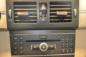 奔驰GLK级(进口)中控台音响控制键图片
