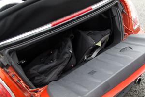 MINI CABRIO行李箱空间图片