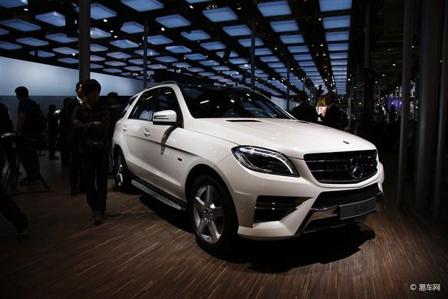 奔驰新ML推四款车型 售价80.8万-99.8万元