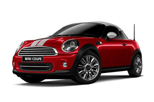 MINI COUPE 辣椒红