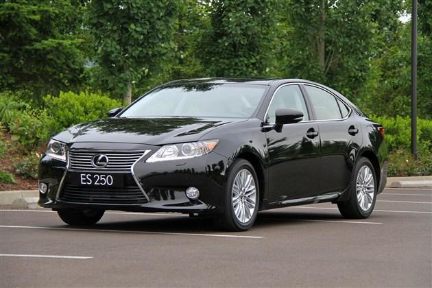 雷克萨斯ES新车型上市 售37.1万-41.1万元