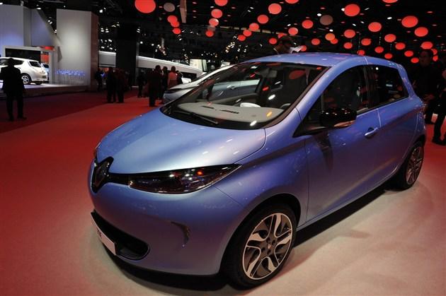 雷诺将推出新款ZOE 行驶里程可达230公里