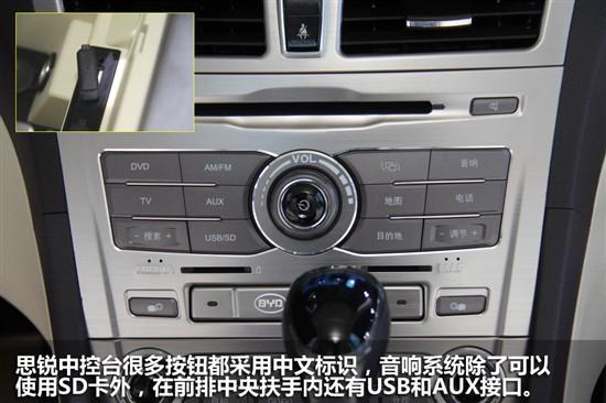 2012广州车展 比亚迪新中级车思锐图解高清图片