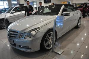 奔驰E级(进口) 2012款 1.8T 自动 E260 CGI敞篷版