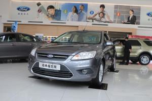 福特 福克斯三厢 2013款 1.8L 手动 经典版三厢百万纪念版