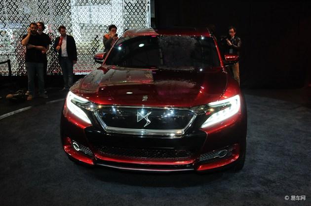 DS发布首款SUV概念车量产计划 将投入国产