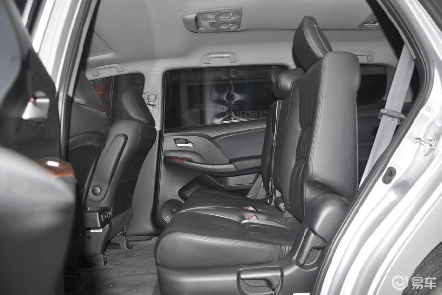 【奥德赛2013款2.4L自动v空间领秀版空间后排比亚迪宋MAX360全景加装图片