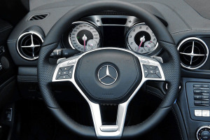 进口奔驰SL级 方向盘