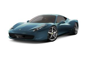 进口法拉利458 阿布扎比蓝金属漆