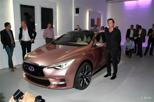 英菲尼迪发布Q30两厢概念车 或2015年上市