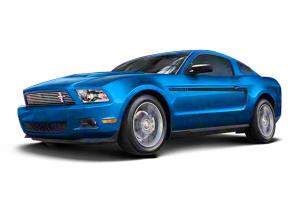 福特Mustang            蓝色