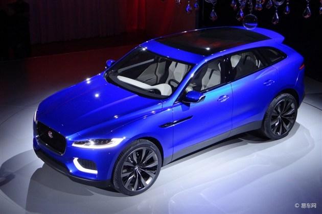捷豹SUV C-X17概念车法兰克福正式亮相
