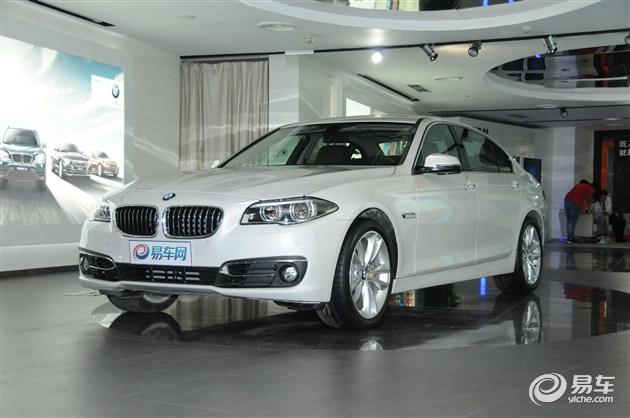 新BMW 5系Li北京展车到店 全面接受预订