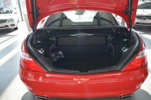奔驰SLK级(进口)行李箱空间图片