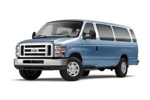 进口福特E系列 钢青色