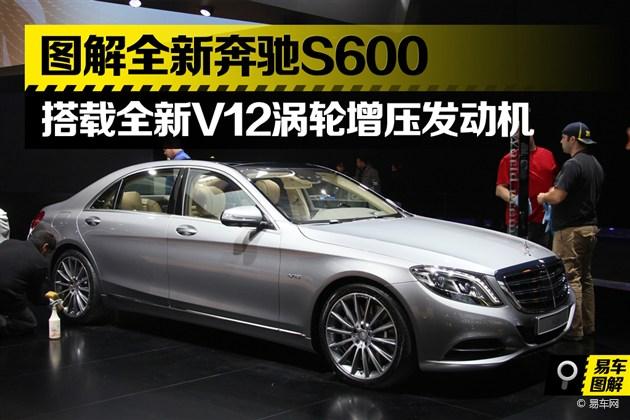 2014北美车展 全新奔驰S600实拍图解