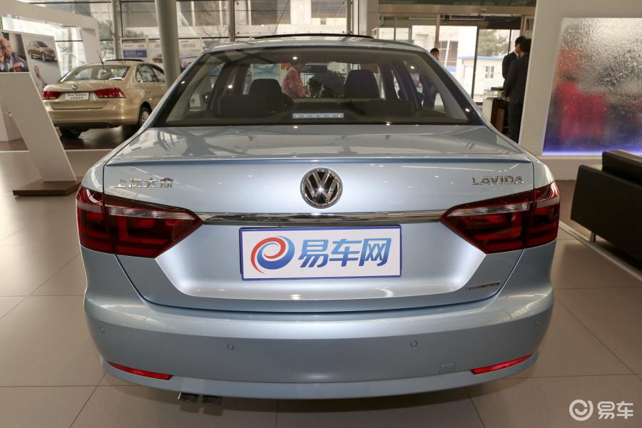 朗逸 2014款1.4t dsg 蓝驱技术版正车尾汽车高清图片