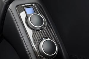 迈凯伦MP4-12C 中控台空调控制键
