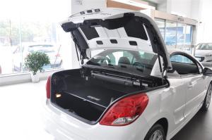 进口标致207 CC 行李厢开口范围