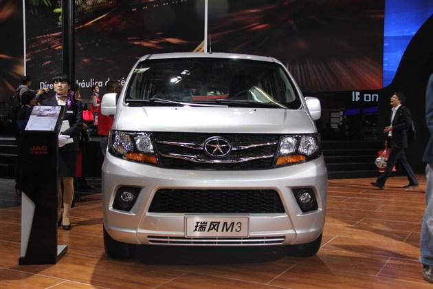 江淮瑞风M3或2015年上市 11月公布预售价