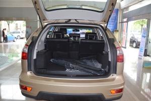 比亚迪S6 行李箱空间