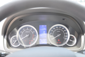 北汽E系列两厢 仪表盘背光显示