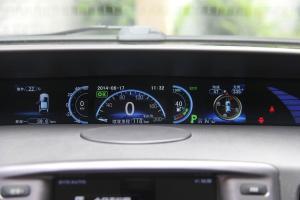 比亚迪e6仪表盘背光显示图片