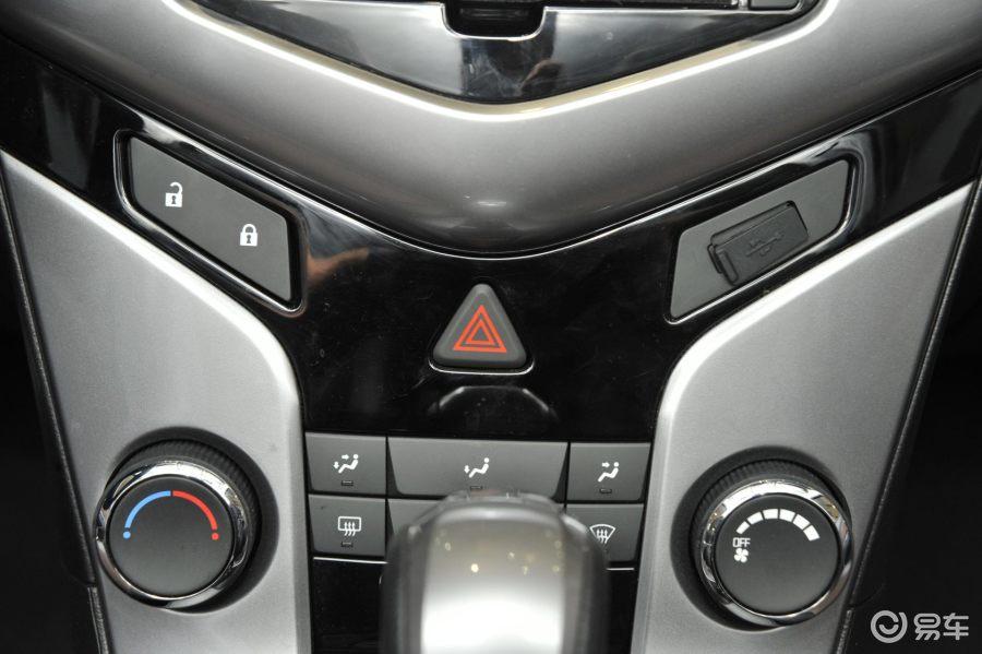 科鲁兹中控台空调按钮图解