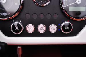 摩根Plus 4 中控台空调控制键