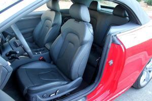 奥迪S5驾驶员座椅图片