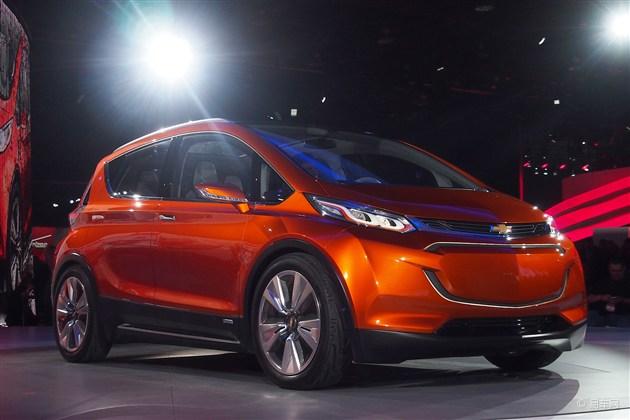 2015北美车展 雪佛兰发布Bolt EV概念车