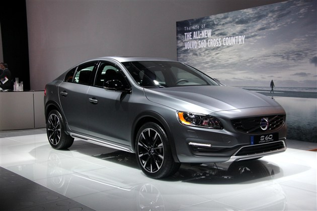 2015北美车展 沃尔沃推S60 CrossCountry